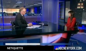 The Rules of Netiquette on NBC News